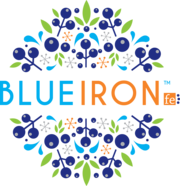 BlueIron Liquid Iron Logo