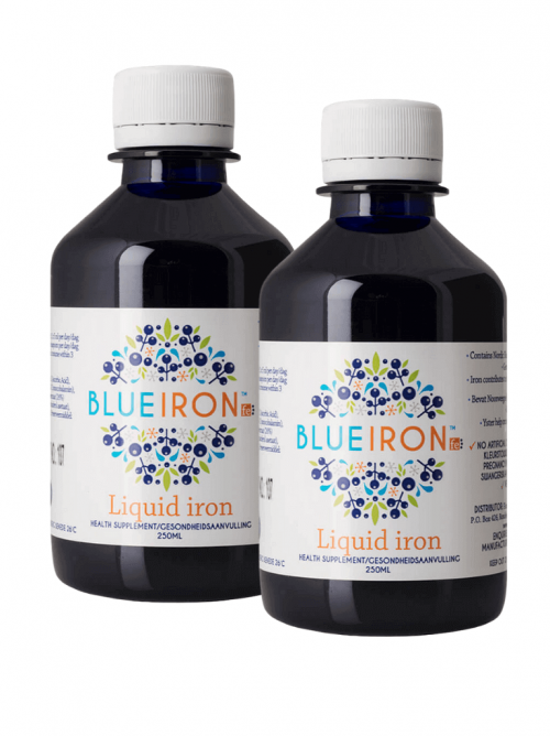 BlueIron 2 bottles